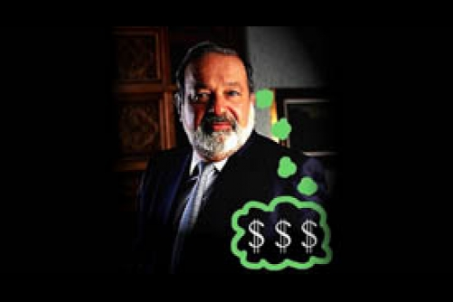 VILLAIN OF THE MONTH - Carlos Slim